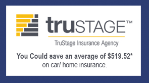Save money on car or home insurance.